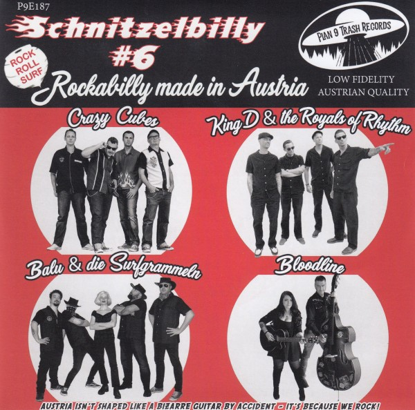 "V.A. - Schnitzelbilly #6 7""EP red"