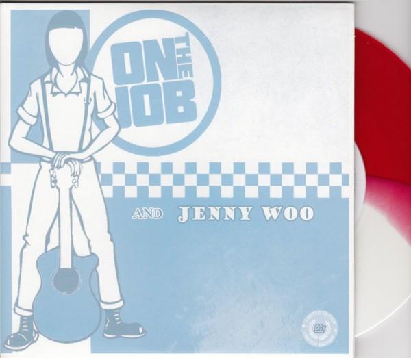 "JENNY WOO / ON THE JOB 7""EP"