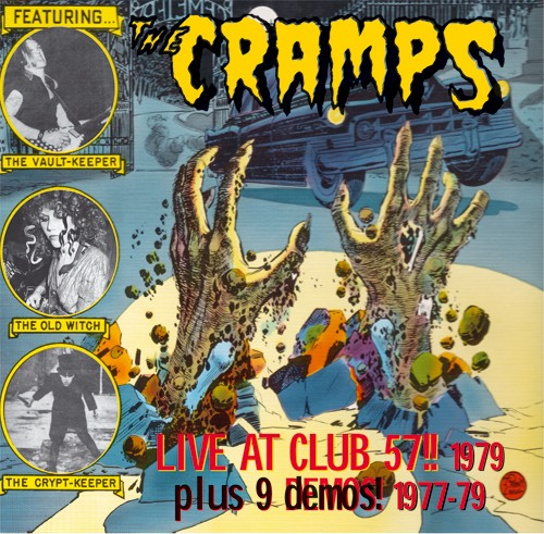 CRAMPS - Live At Club 57!! 2 x LP