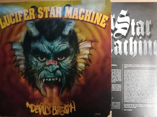 LUCIFER STAR MACHINE - The Devil's Breath LP