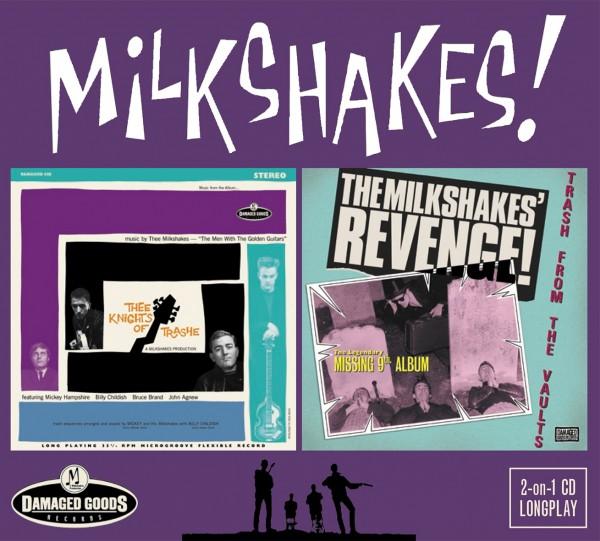 MILKSHAKES - Thee Knights Of Trashe / Revenge CD