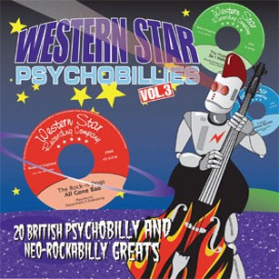 V.A.-Western Star Psychobillies Vol.3 CD