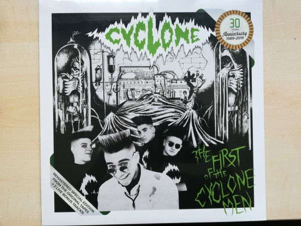 CYCLONE - The First Of The Cyclone Men LP ltd.