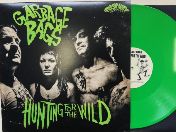 GARBAGE BAGS - Hunting For The Wild LP green ltd.