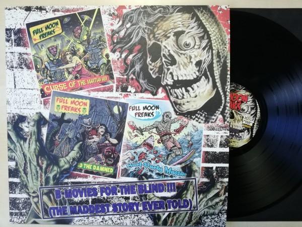 FULL MOON FREAKS - B-Movies For The Blind LP ltd. black