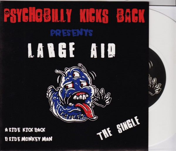 "PSYCHOBILLY KICKS BACK 7"" ltd. white"