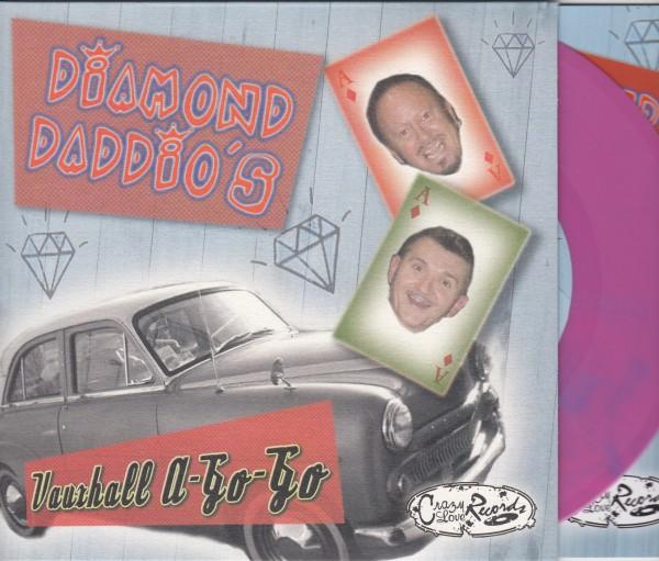 "DIAMOND DADDIO'S - Vauxhall A-Go-Go 7""EP magenta ltd."