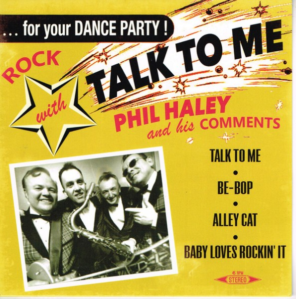 "PHIL HALEY - Talk To Me 7""EP"