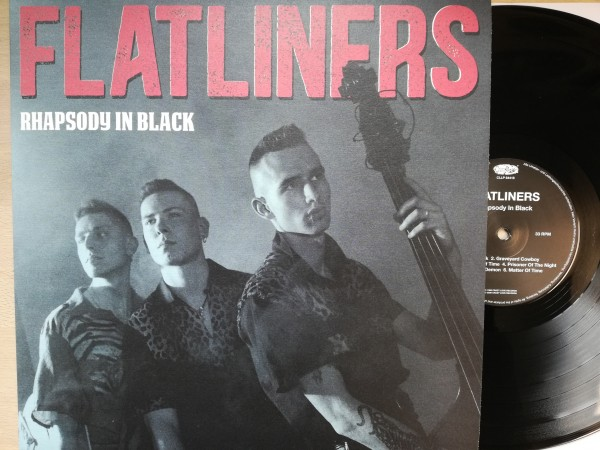 FLATLINERS - Rhapsody In Black LP black