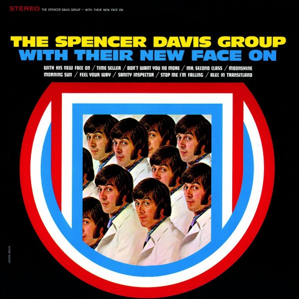 SPENCER DAVIS GROUP - With Their New Face On LP