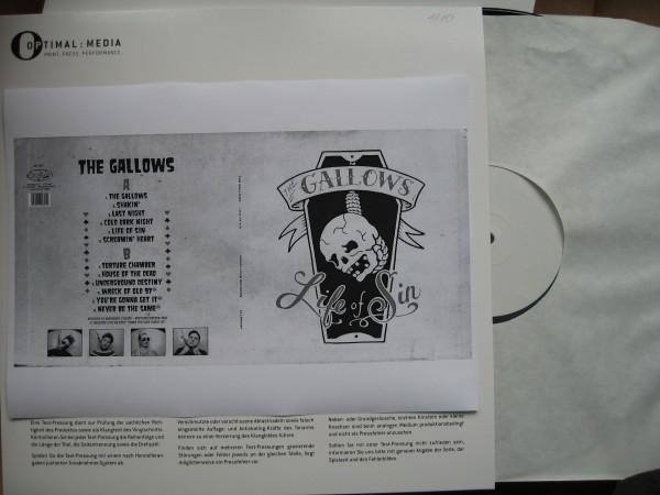 GALLOWS - Life Of Sin LP test pressing ltd.