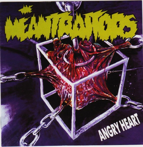 MEANTRAITORS - Angry Heart CD