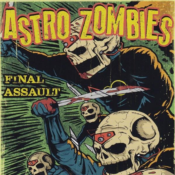 ASTRO ZOMBIES - Final Assault CD