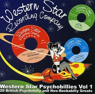 V.A. - Western Star Psychobillies Vol.1 CD