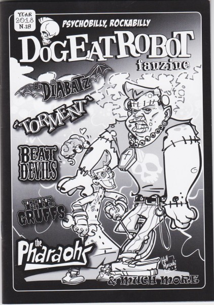 DOG EAT ROBOT # 18 Fanzine