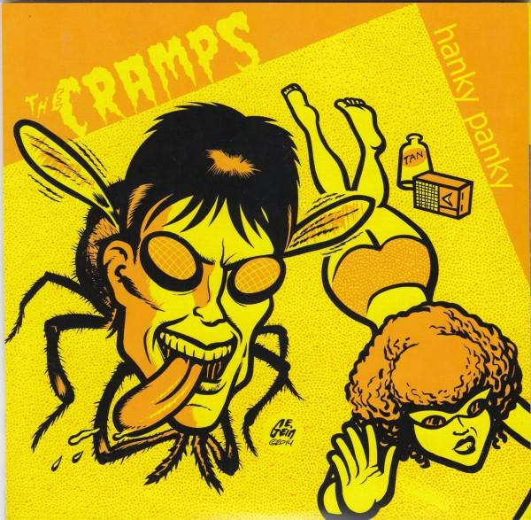 "CRAMPS - Hanky Panky 7""EP"
