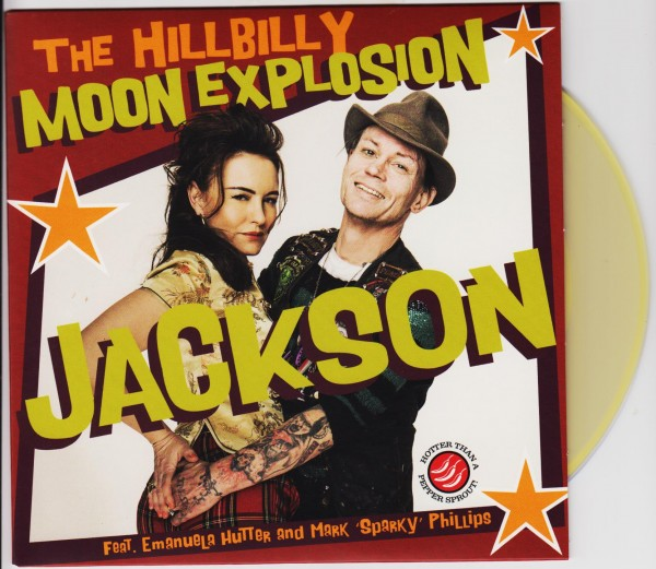 "HILLBILLY MOON EXPLOSION - Jackson 7"" ltd."