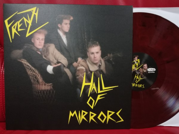 FRENZY - Hall Of Mirrors LP red/black marbled