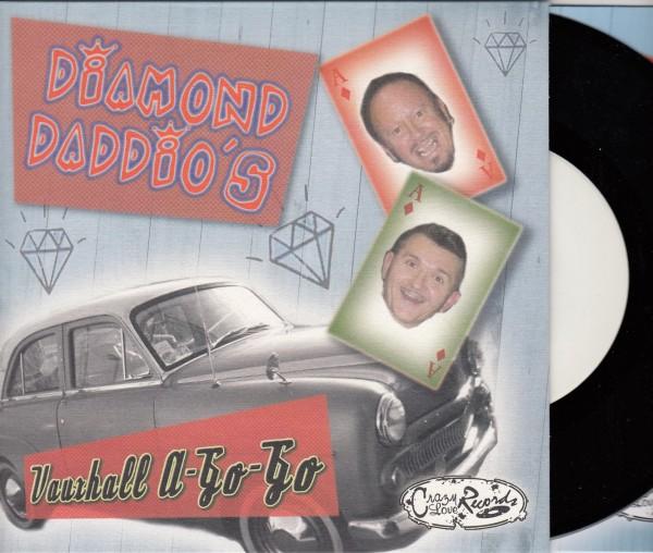 "DIAMOND DADDIO'S - Vauxhall A-Go-Go 7""EP test pressing"