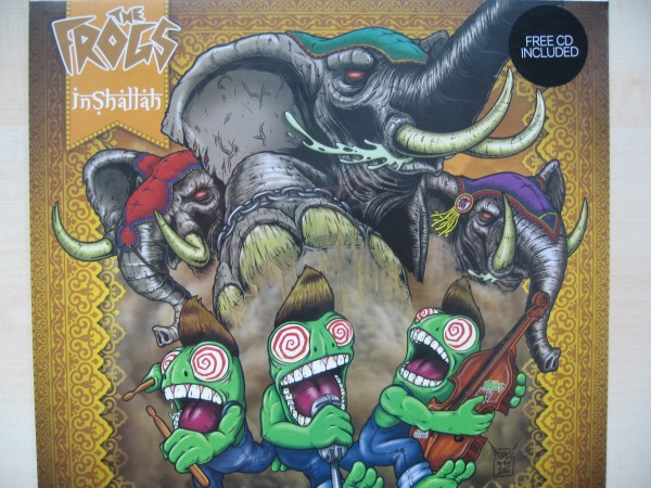 FROGS - Inshallah LP + CD ltd.