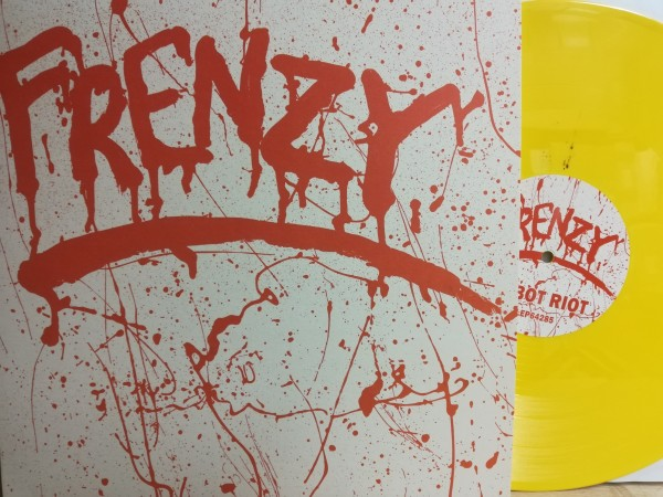 "FRENZY - Robot Riot 12""EP ltd. yellow 2"