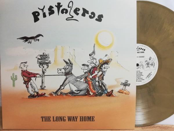 PISTOLEROS - The Long Way Home LP ltd. beige