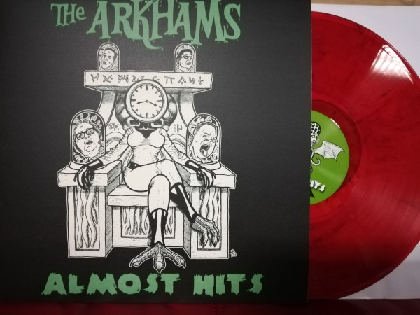 ARKHAMS - Almost Hits LP ltd. red