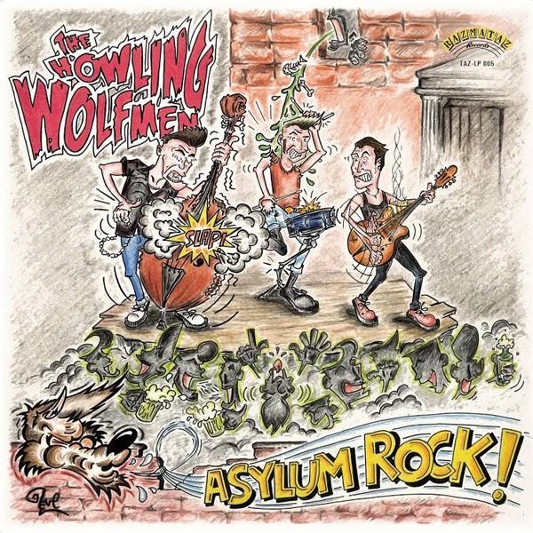 HOWLING WOLFMEN - Asylum Rock LP
