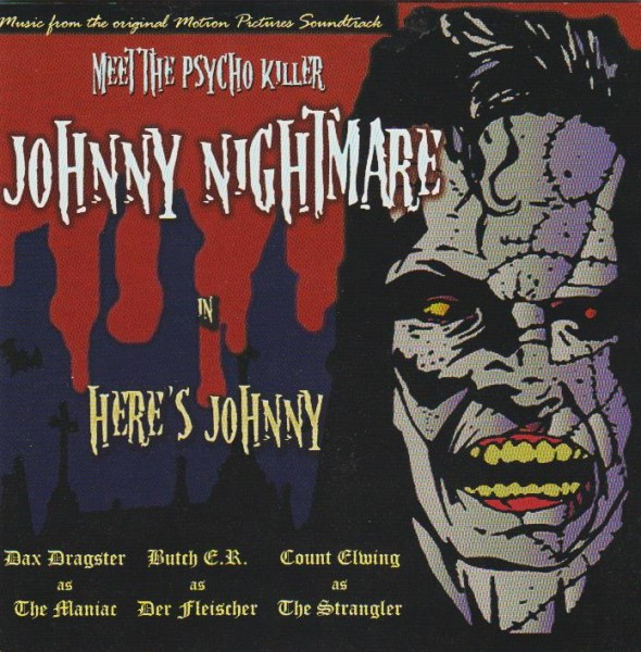 JOHNNY NIGHTMARE - Here's Johnny LP