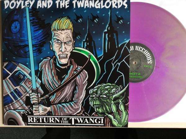 DOYLEY & THE TWANGLORDS - Return Of The Twangi LP purple ltd.