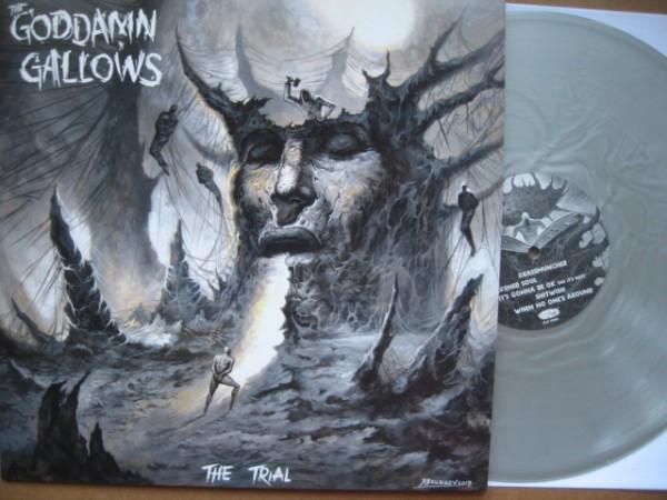 GODDAMN GALLOWS - The Trial LP silver ltd.