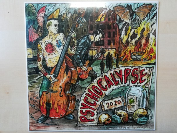 V.A. Psychocalypse LP ltd. black