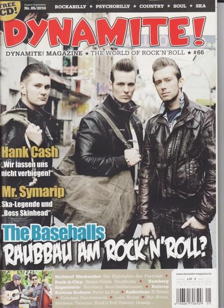 DYNAMITE #66 Magazine + CD