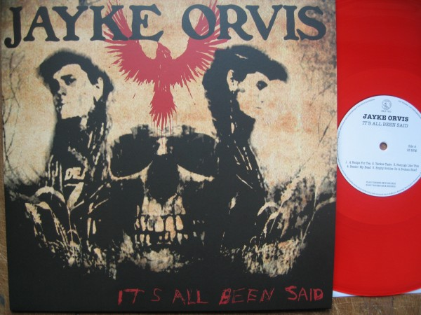JAYKE ORVIS - It's All Been Said ltd. red LP