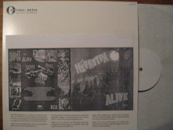 NEVROTIX - Alive LP test pressing
