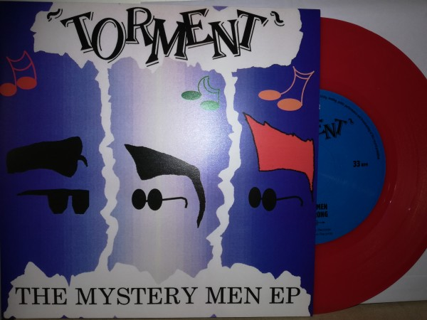 "TORMENT - The Mystery Men EP 7""EP red ltd."