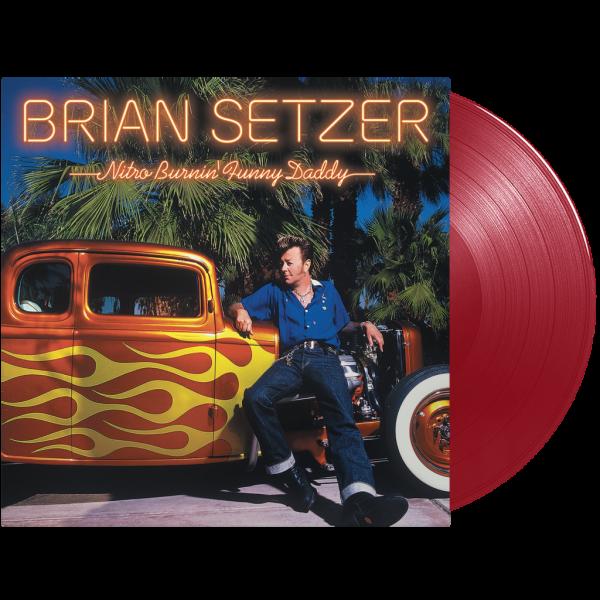 SETZER, BRIAN - Nitro Burnin' Funny Daddy LP ltd.