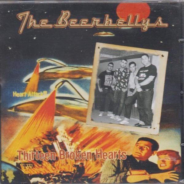 BEERBELLYS-Thirteen Broken Hearts CD