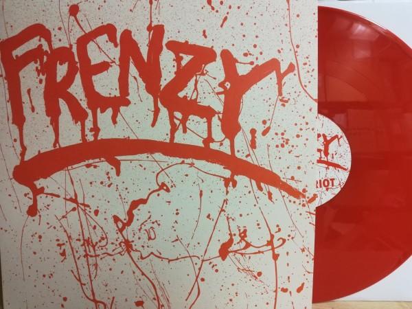"FRENZY - Robot Riot 12""EP ltd. red 2"