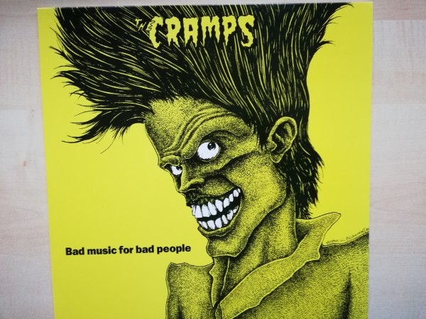 CRAMPS - Bad Music For Bad People LP