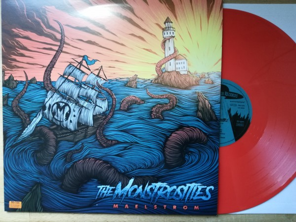 MONSTROSITIES - Maelstrom LP orange ltd.