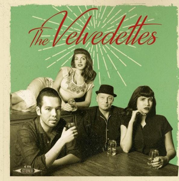 """VELVEDETTES - Same 7""""EP"""