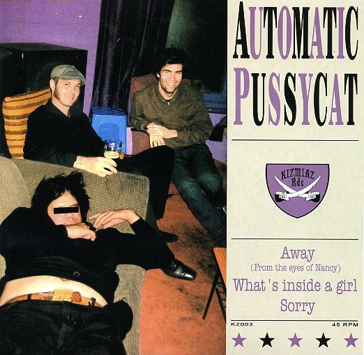 """AUTOMATIC PUSSYCAT-Away 7""""EP"""