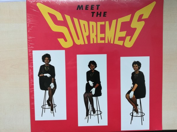 SUPREMES - Meet The Supremes LP