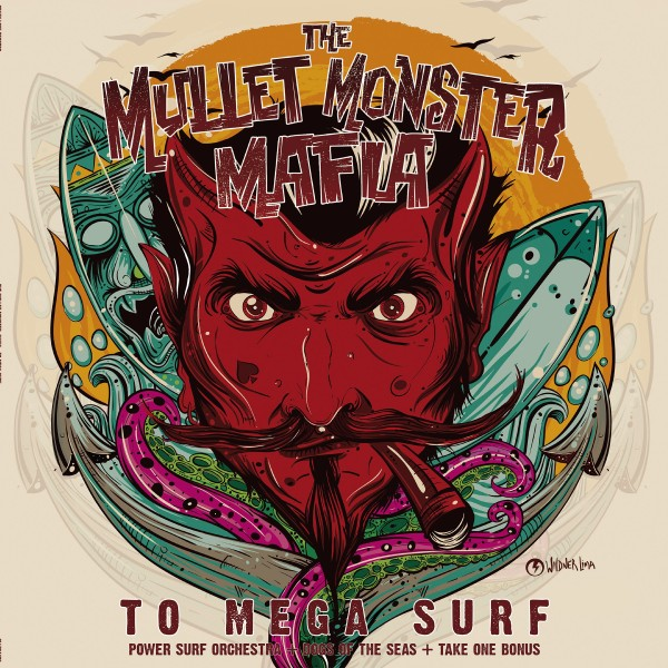 MULLET MONSTER MAFIA - To Mega Surf CD