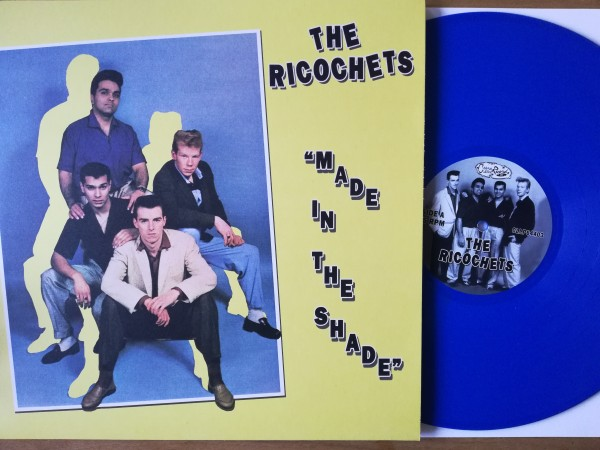 RICOCHETS - Made In The Shade LP ltd. BLUE