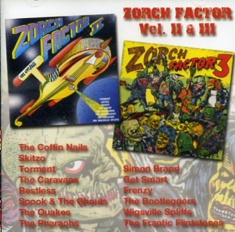 V.A. - Zorch Factor II + III CD