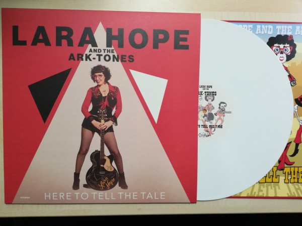 LARA HOPE AND THE ARK-TONES - Here To Tell The Tale LP white ltd.