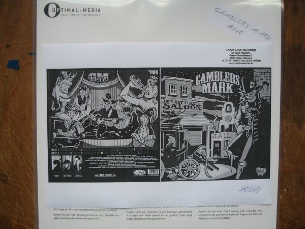 GAMBLERS MARK - The Last Chance Saloon LP test pressing ltd.