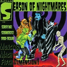 SEASON OF NIGHTMARES - Monster Mash Into The 5th Dimension CD